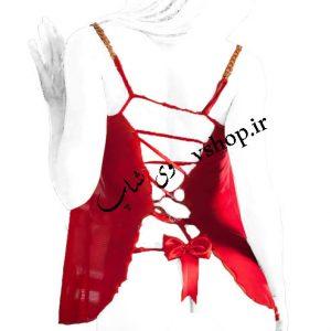 لباس خواب کوتاه سینه باز