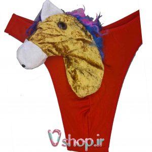شورت مردانه عروسکی فانتزی اسب